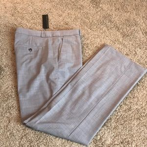 NWT Grey lightweight wool trousers